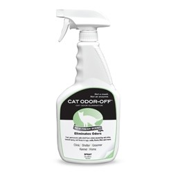 Cat Odor-Off Fresh Scent 22oz Spray