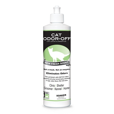 Cat Odor-Off Fresh Scent 16oz Soaker